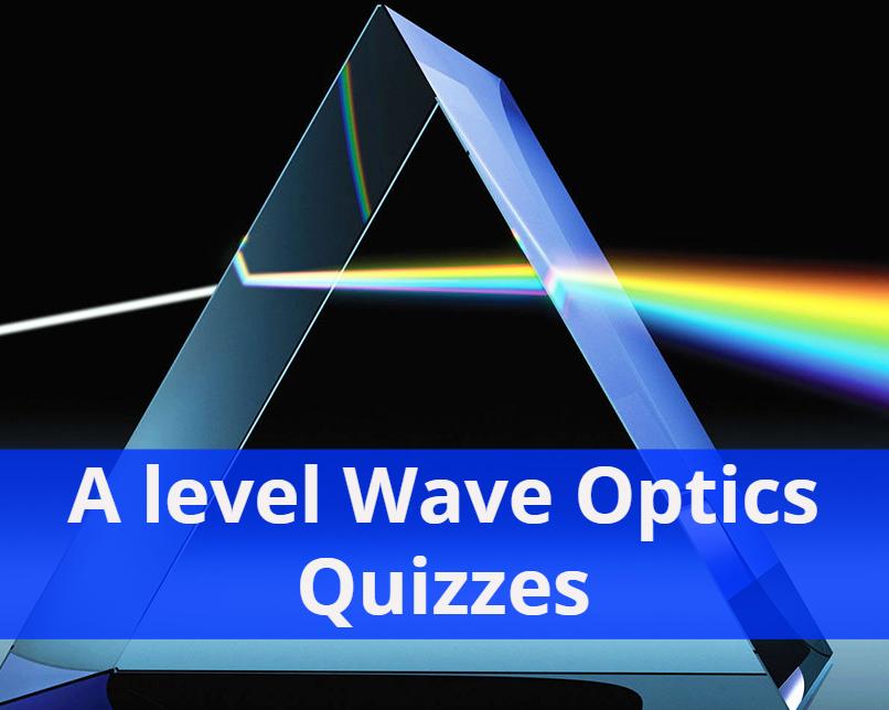 A level Wave Optics Quizzes