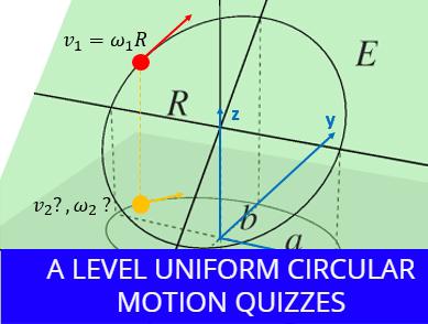 A level Uniform Circular motion Quizzes