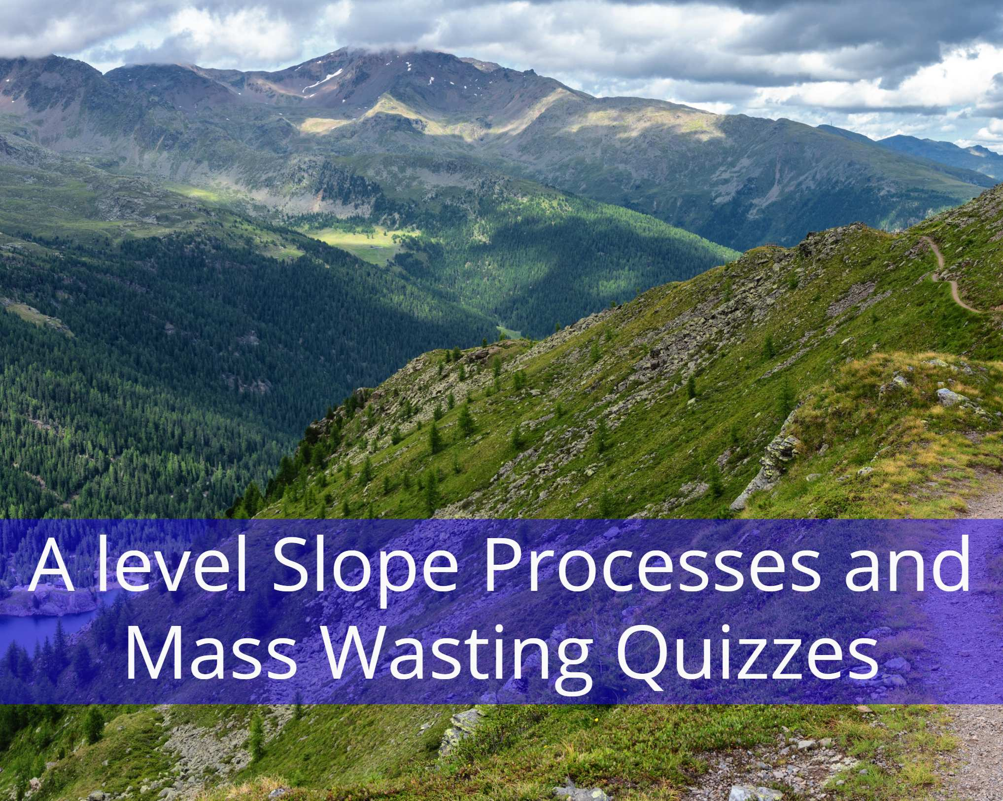 A level Slope Processes and Mass Wasting Quizzes