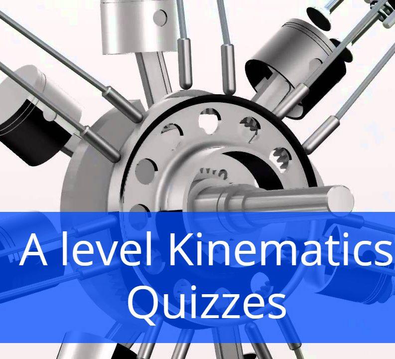 A level Kinematics Quizzes