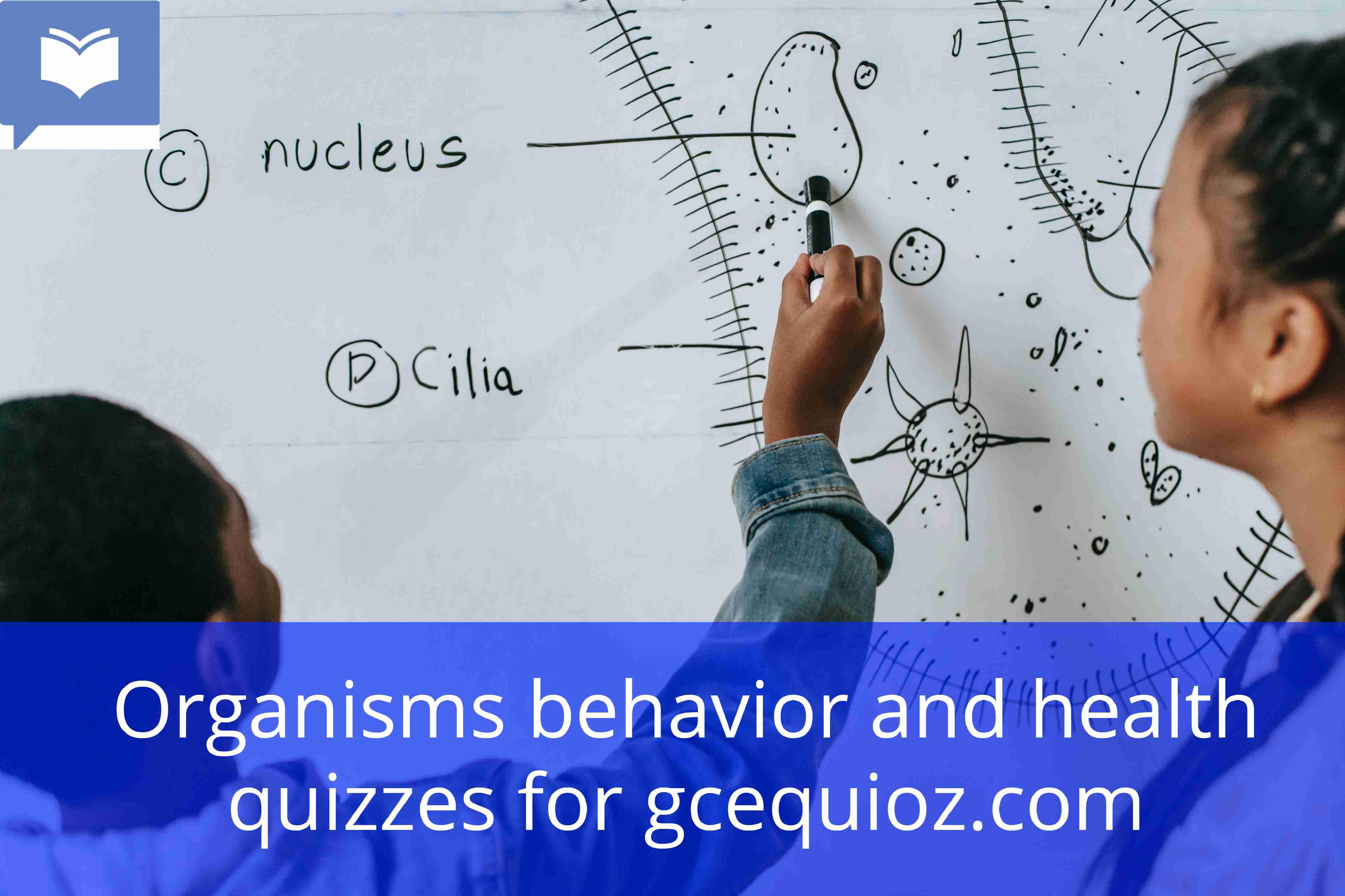 Organisms behavior and health quiz
