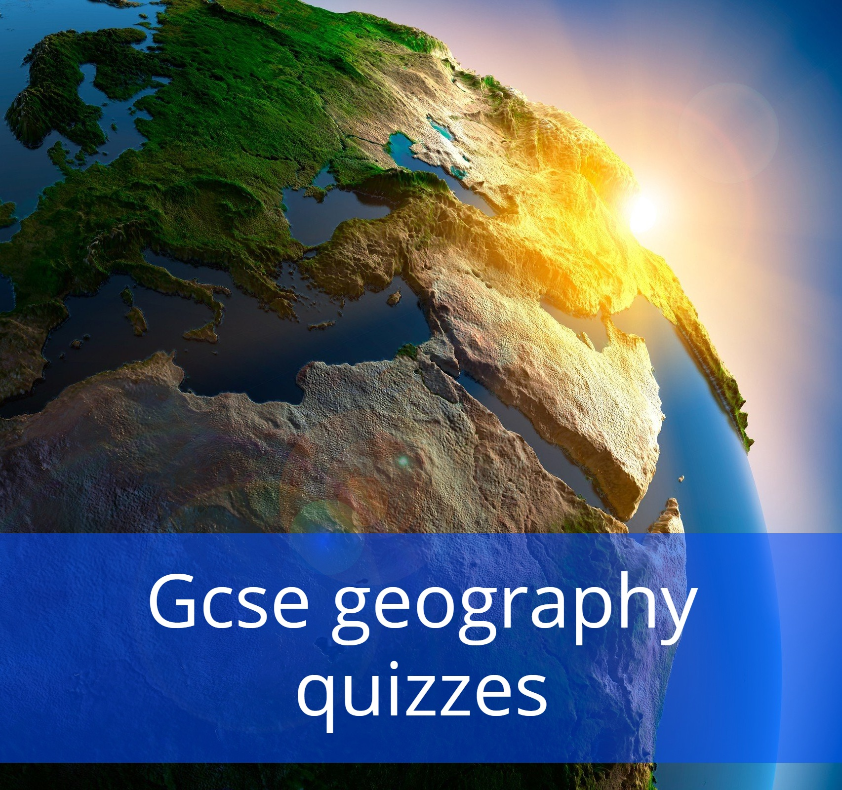 Gcse geography quizzes