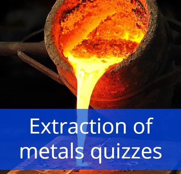 Extraction of metals quizzes