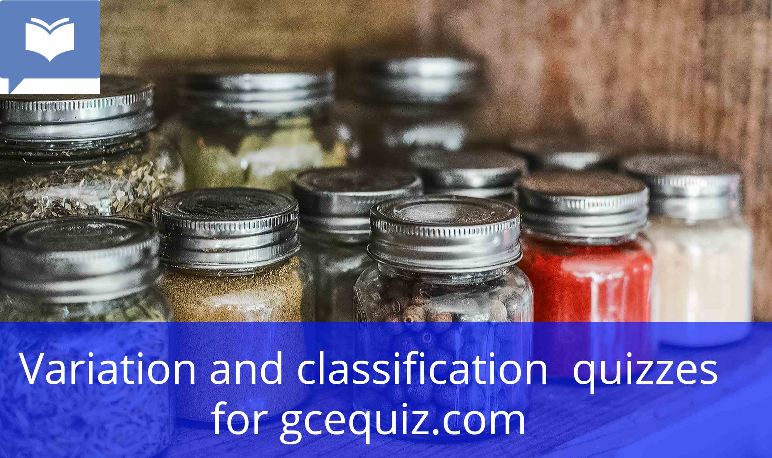 Variation and classification quiz