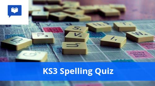 KS3 Spelling Quiz