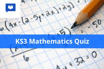 KS3 Mathematics quiz