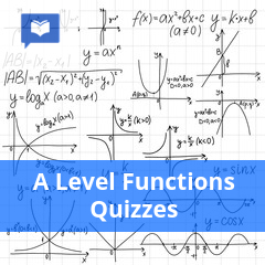 A Level Functions Quizzes